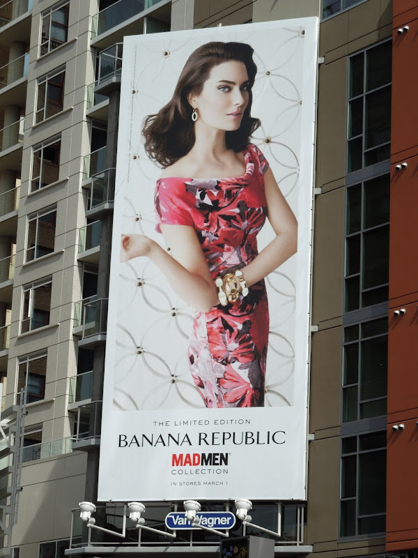 Banana Republic Mad Men Spring 2012 ad