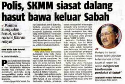Berita Sabah SSKM