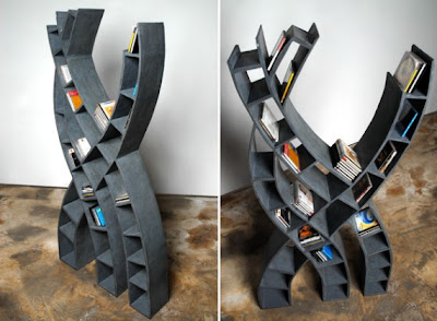 Cool Bookshelves and Creative Bookcases (15) 14