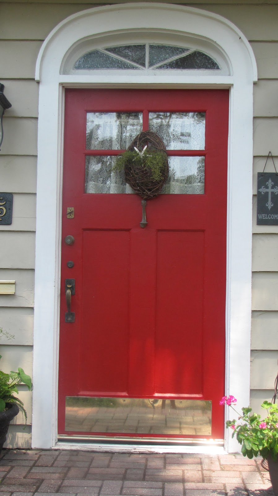 A painted haven art blog Front door paint benjamin moore