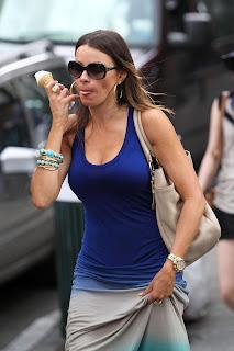 SOFIA VERGARA in  some ice cream licking action