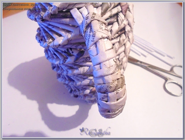 плетеная ручка кувшина