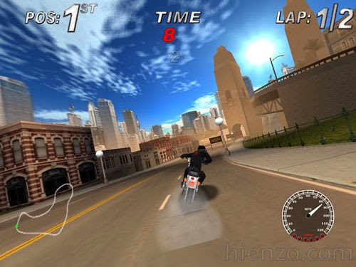 Harley Davidson: Race Around The World PC Gameplay