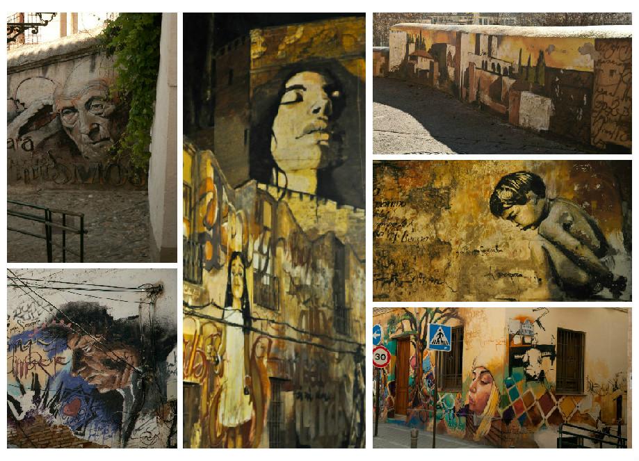 Arte urbano de Granda del Niño de las Pinturas