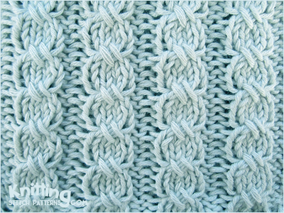 Knitting Ending Up With Extra Stitches : Cross-Stitch Cable Knitting Stitch Patterns