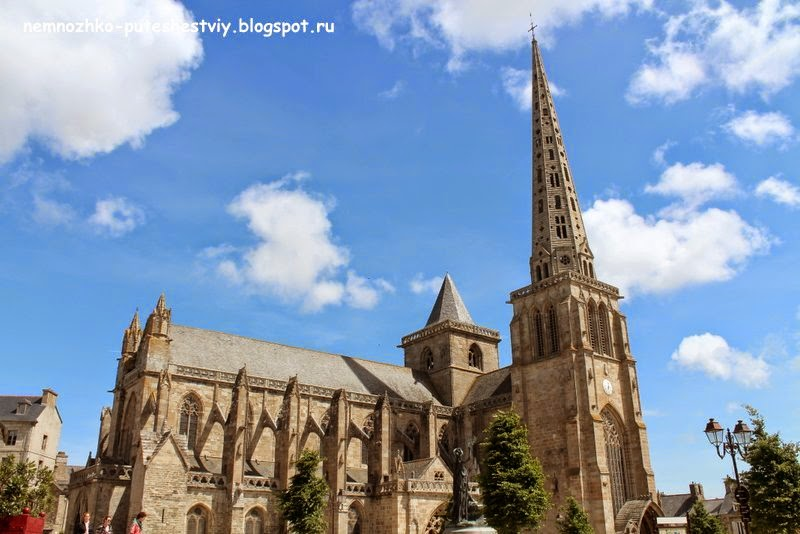 Собор Святого Тудвала, Трегье, Бретань