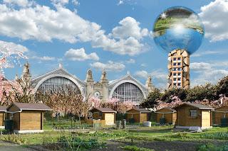 gare de Tours projet ilot Vinci la tour Ecologia