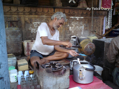A Tea shack or Chaiwala in Mathura