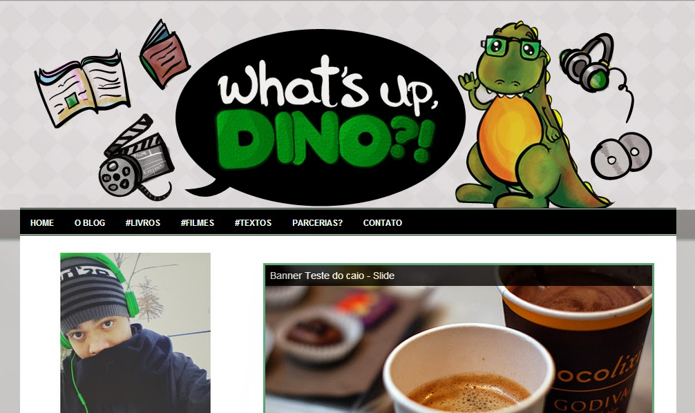 Template do Blog What's up DINO?! criado por Jéssica Guedes (http://www.jessicaguedes.com)
