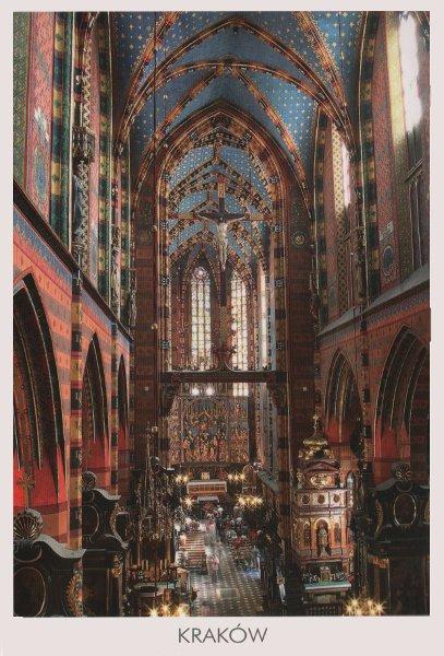 lavish interior of basilica