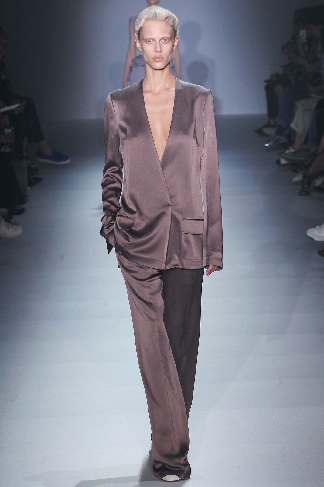 Haider Ackermann / Spring/Summer 2015 trends / trouser suit / styling tips and outfit inspiration / via fashioned by love british fashion blog
