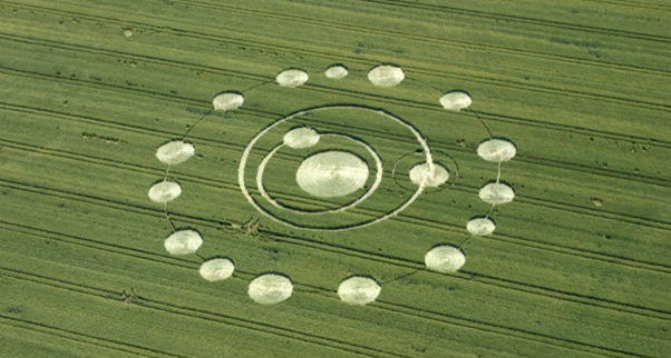 Crop circles &#8216;physics, not aliens&#8217;