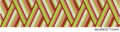 peyote free pattern bracelet beading beaded beadweaving beadwork