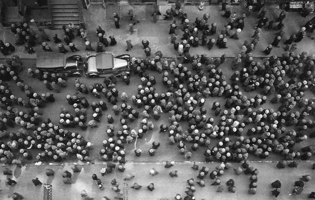 calle de Nueva York en 1939