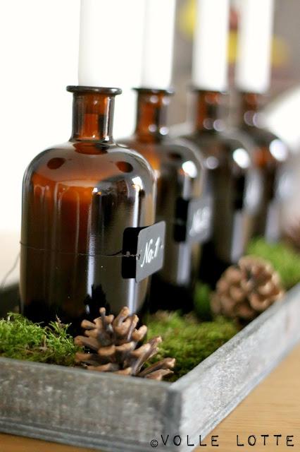 Apothekerflaschen, Gin, Monkey47, Schwarzwald, Selbermachen, DIY, upcycling