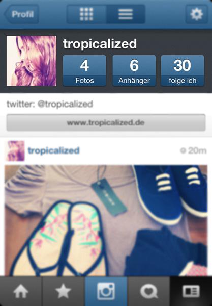 instagram tropicalized