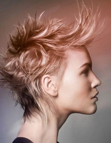 Medium Punk Hair Style 2014