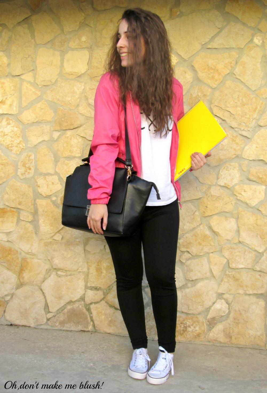 Blogger girl back to school