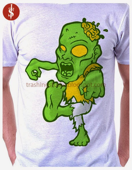 A simple Zombie Theme Cartoony Style