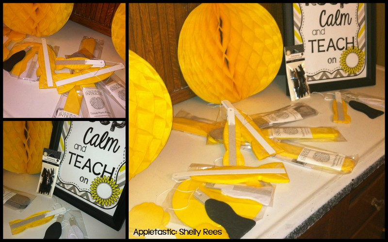 Yellow Classroom Decor : Classroom decor giveaway! appletastic learning