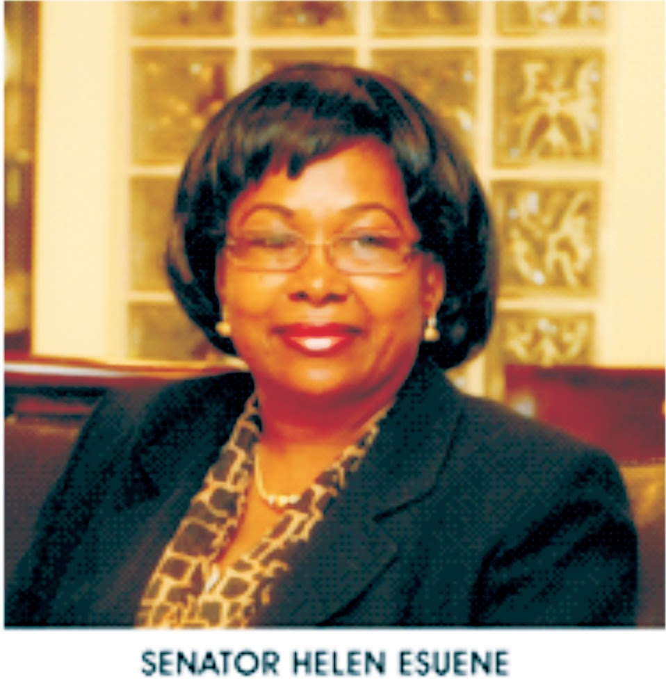 """I will provide 50,000 jobs annually if elected governor"" -  Sen. Helen Esuene"