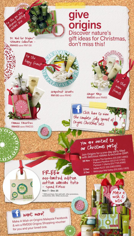 Plus Size Kitten: Origins Christmas Party & Gift Ideas!