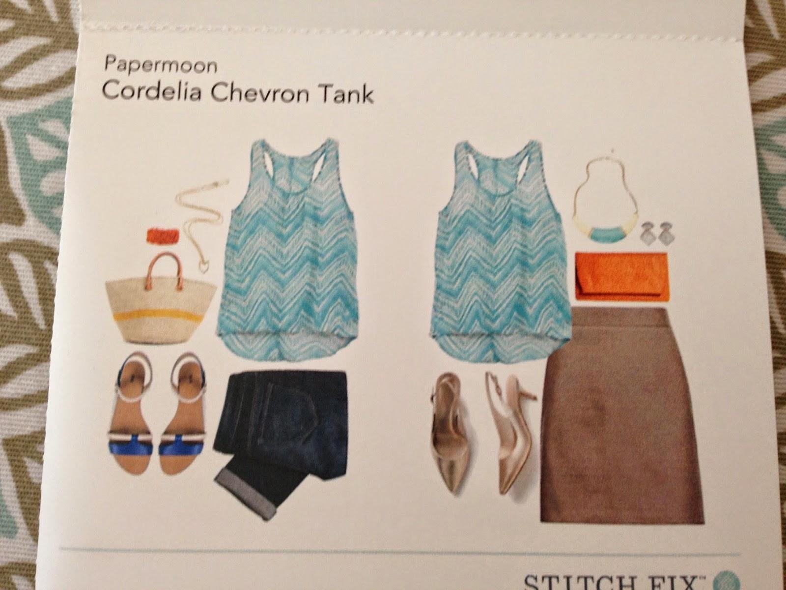 Stitchfix, Cordelia Chevron Tan