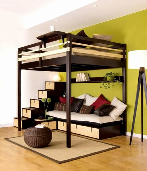 Interior design styles ideas small bedroom ideas for Bed styles for small rooms