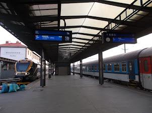Tuesday(8-9-2015) :-PRAGUE CENTRAL RAILWAY TERMINUS.