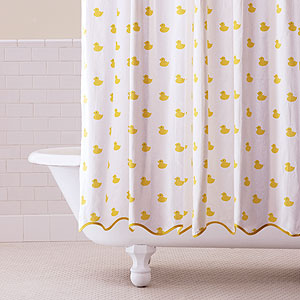 Shower Curtains Yellow Ducks Home Design