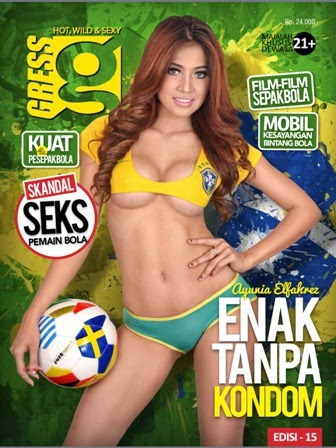 Gress Magazine Edisi 15 - Cover Ayunia Elfahrez