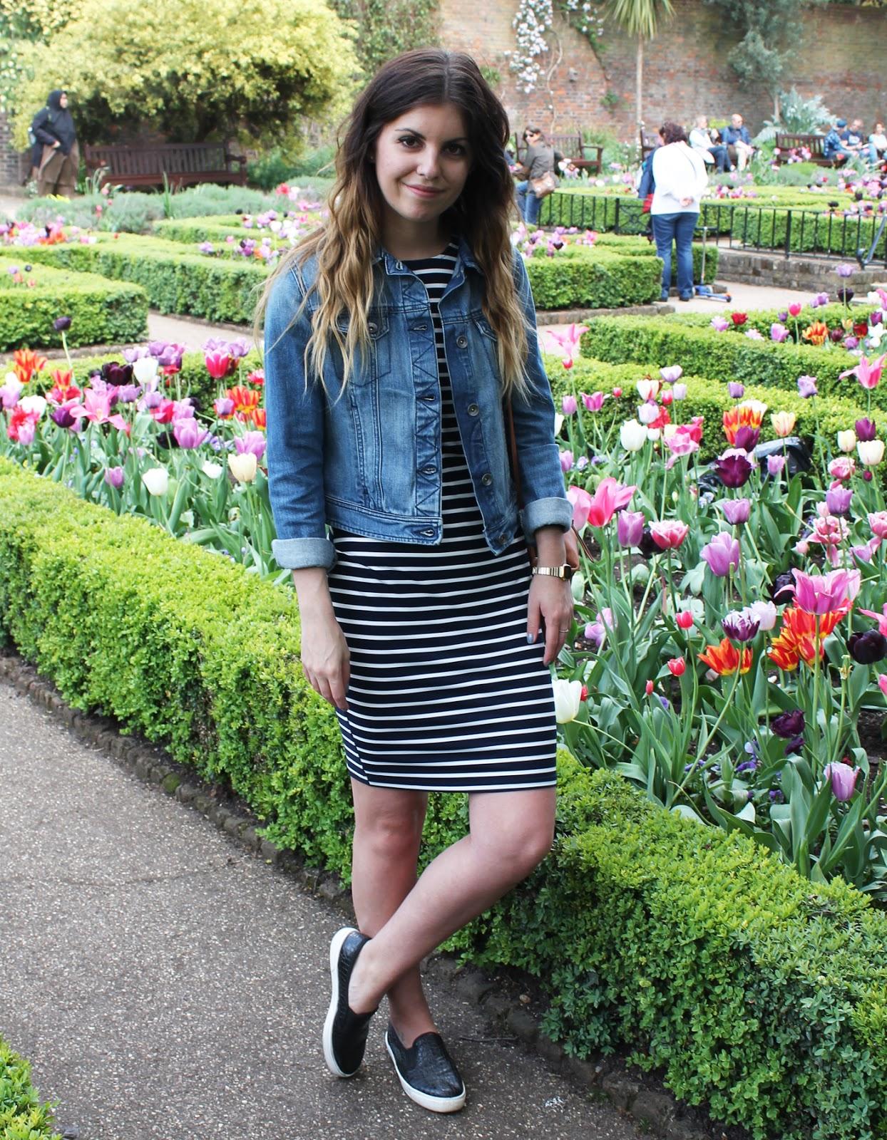 Sweet Monday, UK fashion blogger, Sugarhill Boutique, Poppy Lux Octavia striped bodycon dress