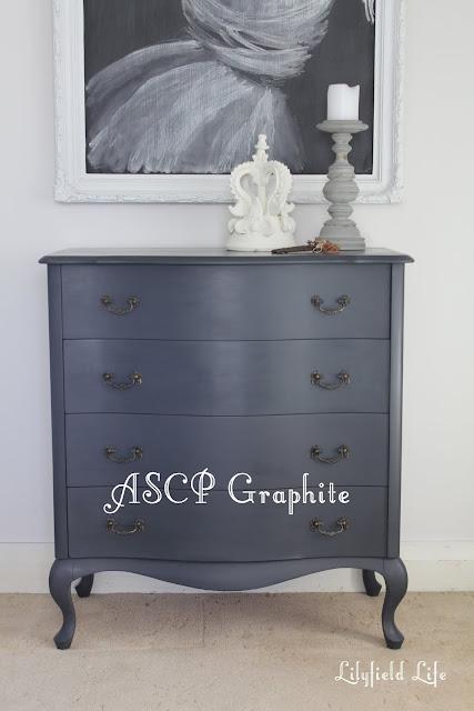 Lilyfield Life: ASCP Graphite  Annie Sloan Chalk Paint
