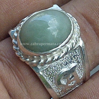 Cincin Batu Permata Giok Burma type A