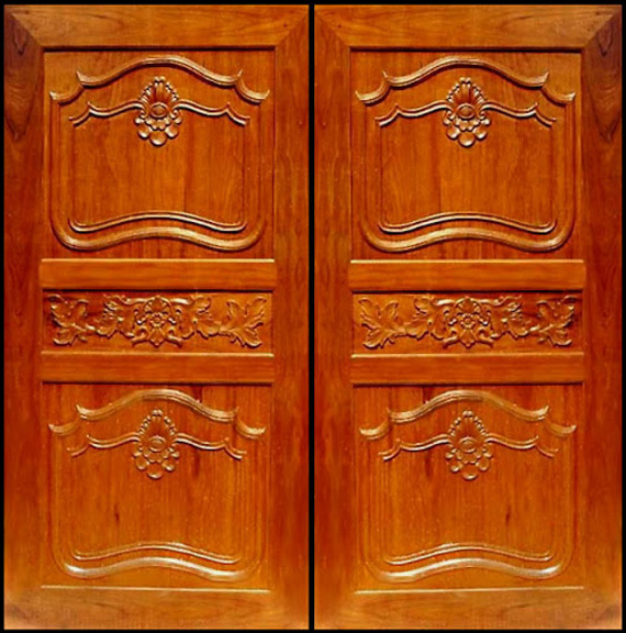 Wood design ideas double front door designs wood kerala for Best front door designs