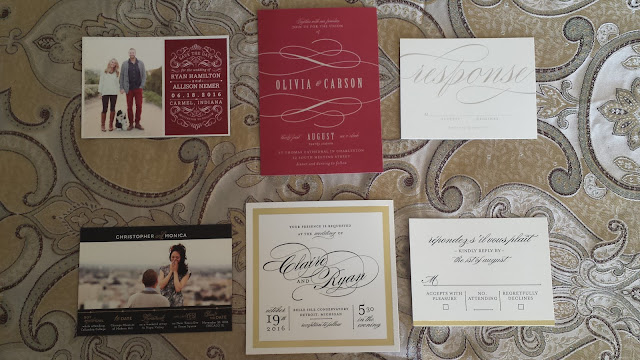 minted wedding samples review
