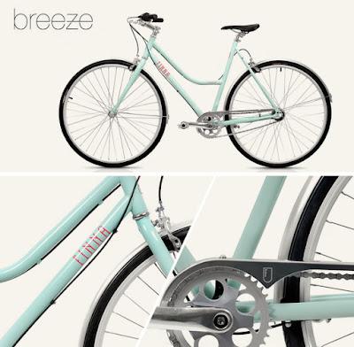 Bicicletas urbanas Finna, modelo Breeze