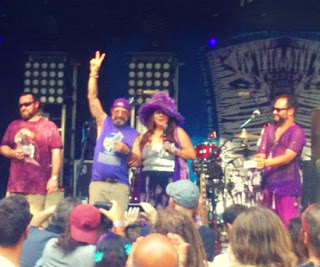 Momma Margie at Purple Hatter's Ball at Spirit of the Suwannee Music Park