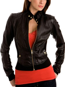 Collection Cute Leather Jacket Pictures - Reikian