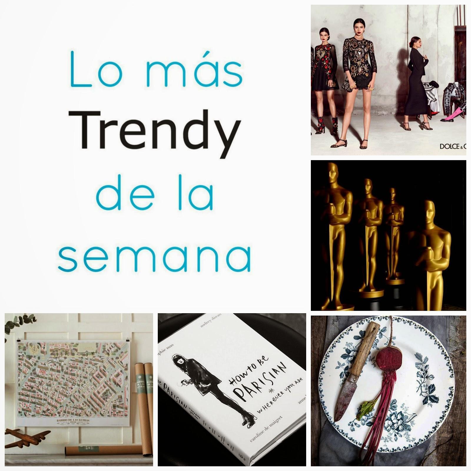 Recomendaciones Planes Madrid Trendy moda arte libros Paris estilo chic