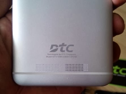 DTC Mobile GT17 Jupiter  Logo and Loud Speaker Grill