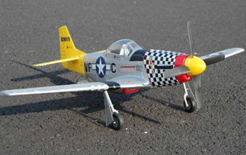 Redcat P-51D Mustang Images
