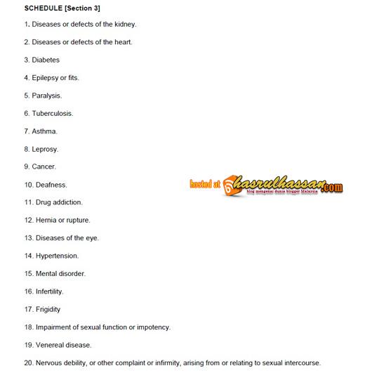 Panduan Menulis Blog | Larangan Mengiklan 20 Penyakit Menerusi Media