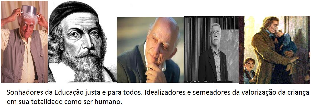 Ziraldo/Comênio/Rubem/Pacheco/Pestalozzi