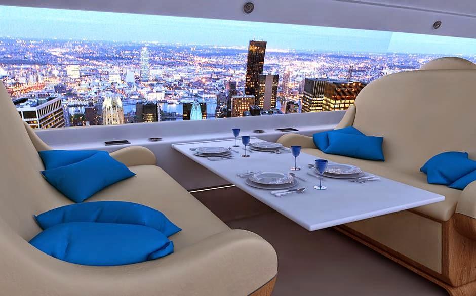 Desain Ruang Makan Elegan Mewah Apartemen