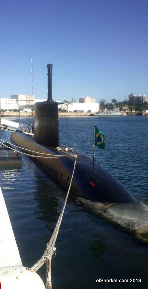 Base Naval Mar del Plata - Visita de unidades de la Marina del Brasil TK+2