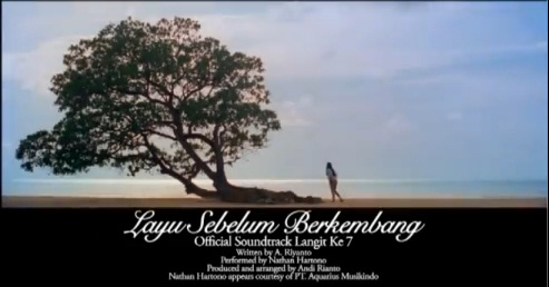 Layu Sebelum Berkembang - Nathan Hartono   Soundtrack Film Langit Ke 7