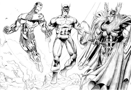 Printable Avengers Coloring Pages  Disney Coloring Pages