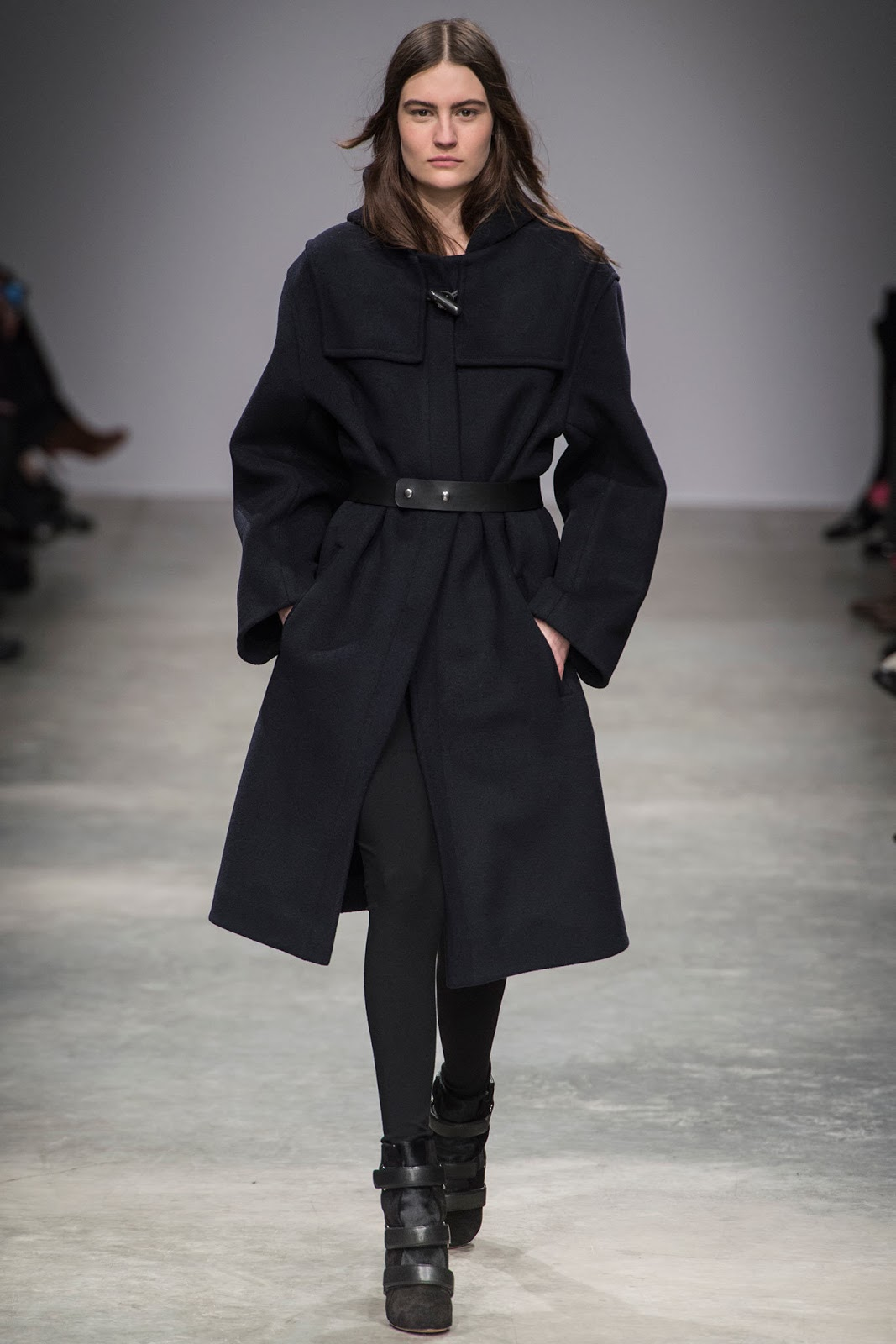 Isabel Marant coat from the F/W 2013-2014 collection