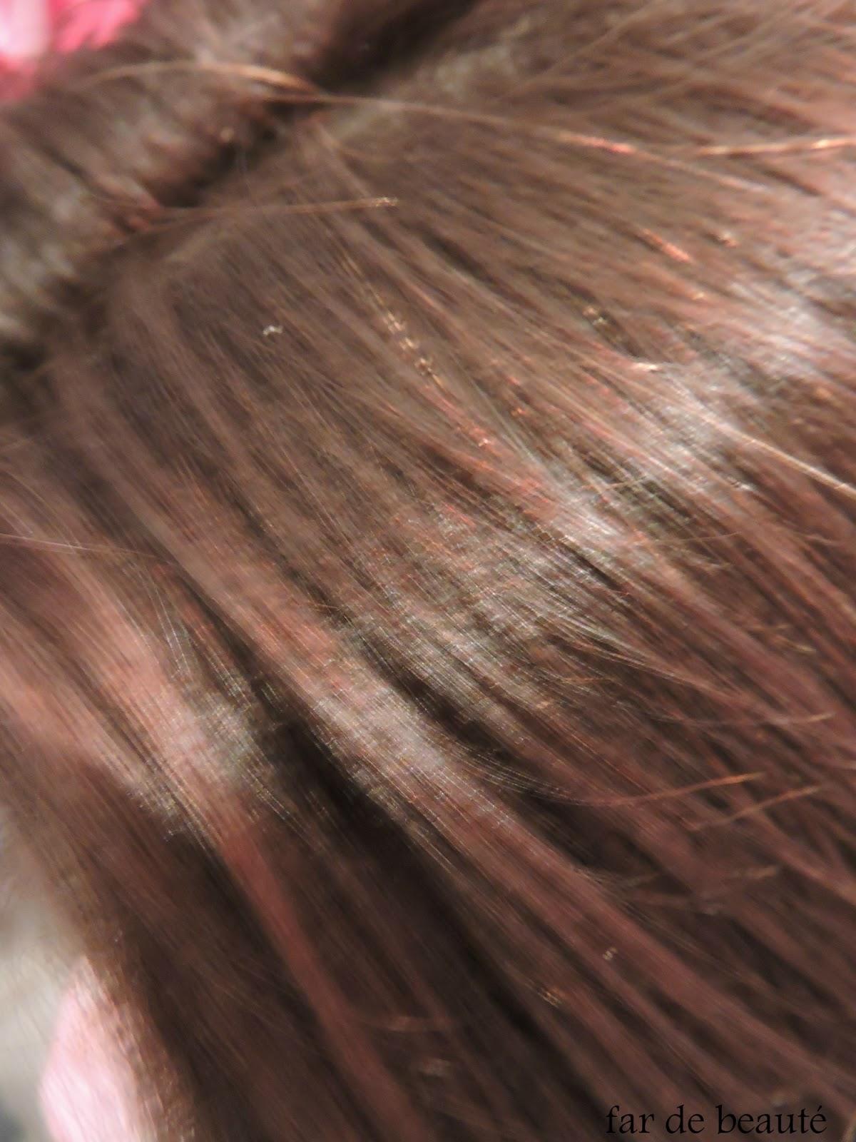 aprs 2 lavages mes cheveux nont pas beaucoup dgorgs par contre les cheveux blancs sur le dessus du crne sont colors mais lgrement plus clairs - Coloration Cheveux Cappuccino